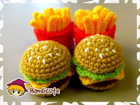 Burger Set Amigurumi by imuya