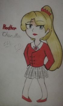 Heather Chandler (Heathers)  by InadequateDrawings