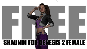 [Free] Shaundi Outfit for Genesis 2 Female by sedartonfokcaj