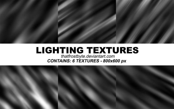 Lighting Textures by thatfrostbyte