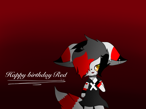 Happy birthday Red! by Cuddle600