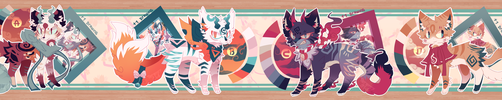 Adoptables Auction (CLOSED) by TerenryRM