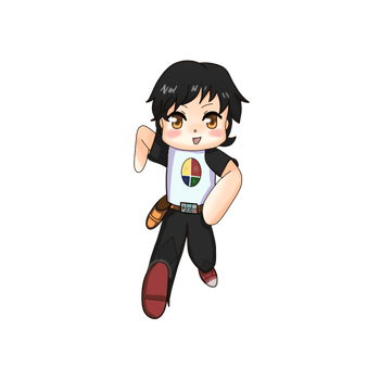 Chibi Running - Request from Kenneth-Setser by Guiguimu