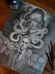 Lovecraft by NathanRosario