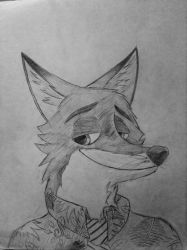 Nick Wilde by Soliassoul