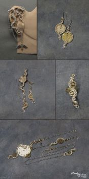 TIMELESS steampunk collection by bodaszilvia