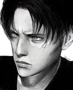 Levi real portrait by Redwarrior3