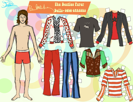Paul paper doll 5 by 89000007ANL