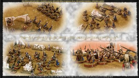 Figurine-Staging-The Betrayal of Isengard 2 by Valtorgun-le-Grand