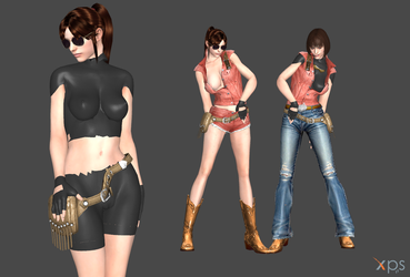Claire Redfield FULL *updt* by Marcelievsky