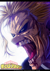BNHA - All Might by Acnoxsus