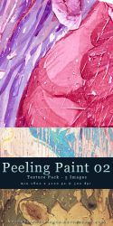 Peeling Paint Texture Pack 02 by kuschelirmel-stock