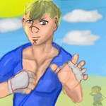 Street Fighter Abel by UltimateDragon96