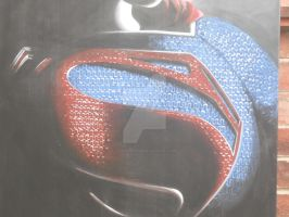 Man of steel close up by Cassieprouse