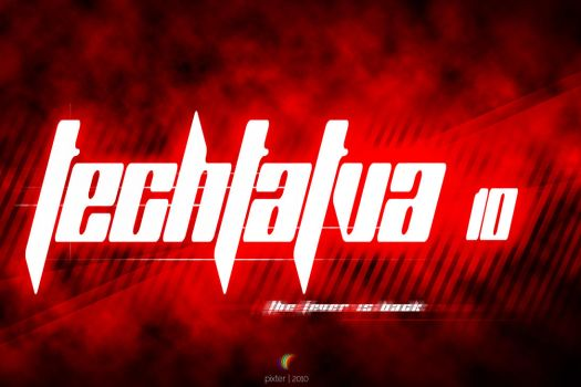 techtatva wallpaper in red by suman-pixter