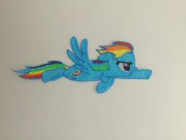 Rainbow Dash 3D pen by EDplus