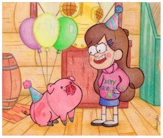 Party Pig by NancyKsu