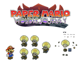Chal (Paper Mario Wonder Journey) by DerekminyA