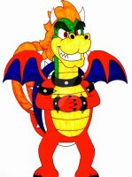 Bowtail the koopa/dragon by Iwatchcartoons715