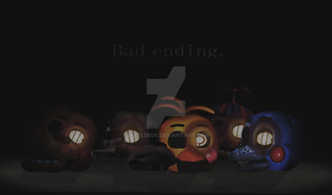 Toy Animatronics Bad ending by PixelDeus