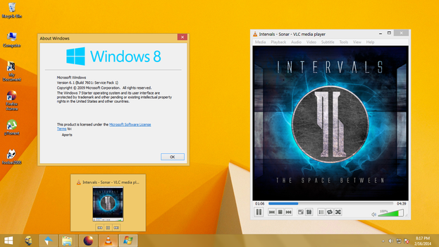 Windows 7 Starter Screenshot (February 16, 2014) by aportz19
