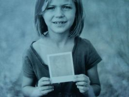 untitled portrait of niece by equivoque