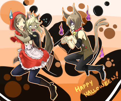 .:: UTAU HALLOWEEN ::. by Deiyanoko