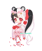 Simple chibi Commission by Kuridel