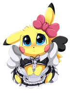 Comm: Pika Dress by pridark
