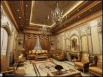 Classic interior In Ksa by Amr-Maged