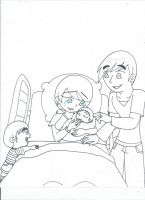 Welcome to the world, Alica (uncolored) by XSreiki772