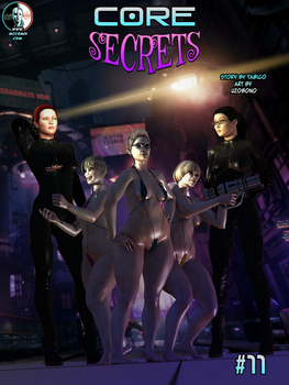 CORE #11: Secrets Cover by uzobono