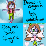 Draw it again: Lucy the Fairy Cat by NatalieGuest