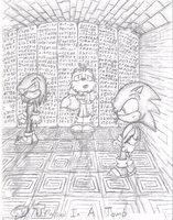 Sonic - Trapped In A Tomb by ClassicTeam