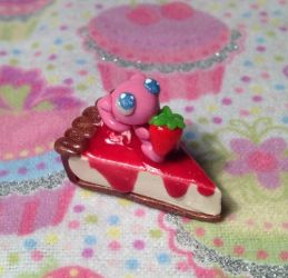 Mew Strawberry Cheesecake by LaPetitLapearl