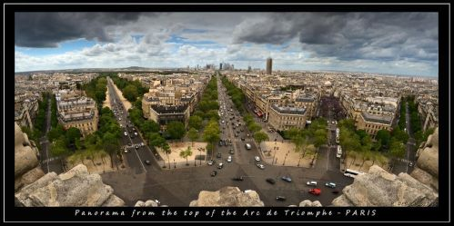 paris overview by bracketting94