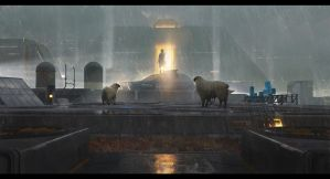 Do androids dream of electric sheep by Datem
