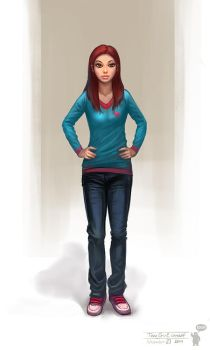 Teen Girl concept by bocho