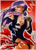Commission: Psylocke by eisu