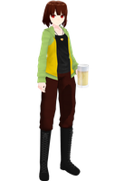 MMD model Drunk Chara [DL+] by poi789