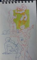 sketchbook page 4 by IvaTheHuman