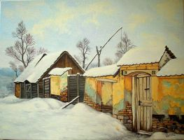 old time snow by gyurka