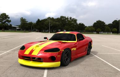 Dodge Viper by TheRedCrown