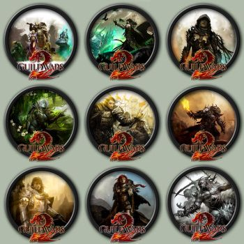 Guild Wars 2 Icon Pack by kodiak-caine