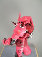 Char's Zaku II Shoulder by GameraBaenre
