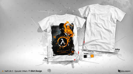 Half Life 3 / T-Shirt Design by durly0505