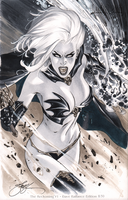 eBas Copic Lady Death by ebas