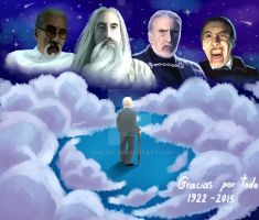 homenaje a christopher lee by angxel