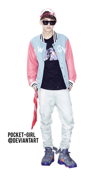 EXO-M Chen Growl Teaser Photo Render by pocket-girl