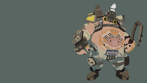 Roadhog Minimalistic Wallpaper (1920x1080) by Sohka217